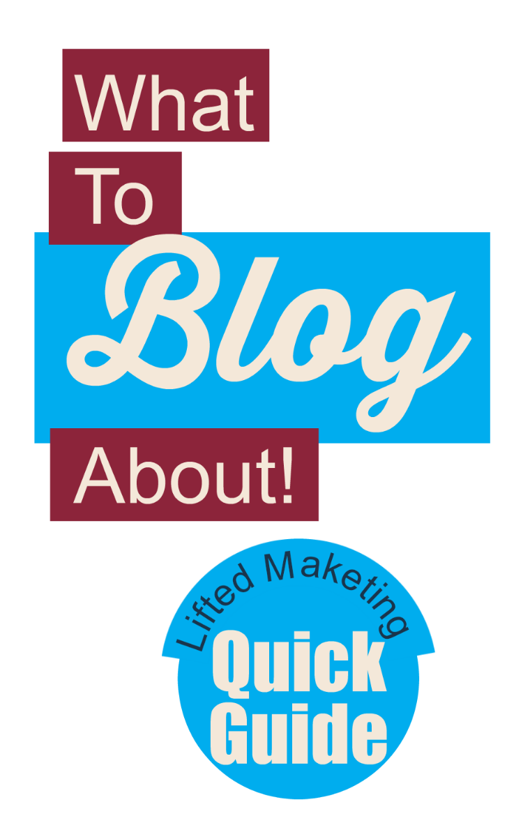 Not sure what to blog about?